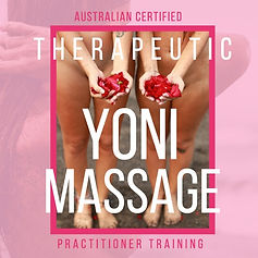therapeutic yoni massage mapping certified training