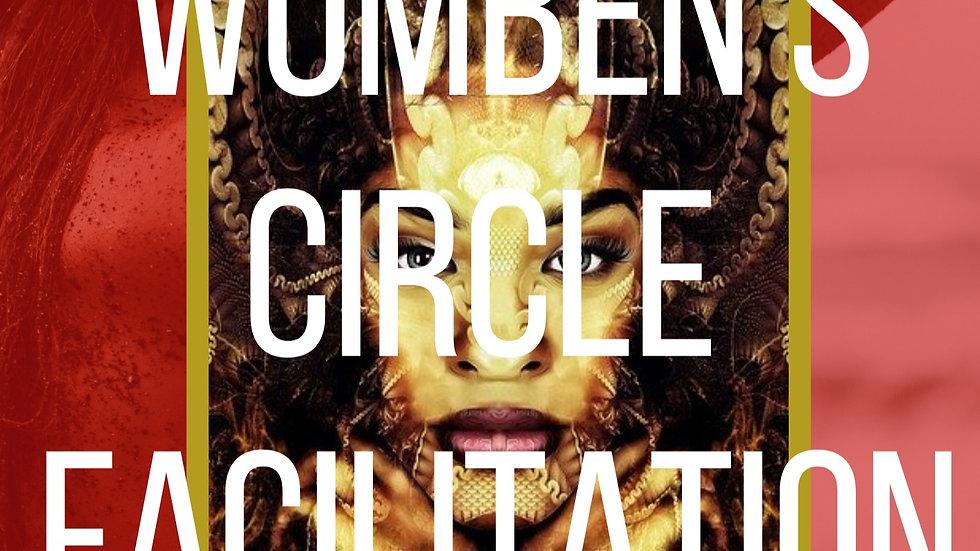 Womben's Circle Facilitation