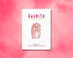 Susmita Cover Pink 2A5 Magazine MockUp.p