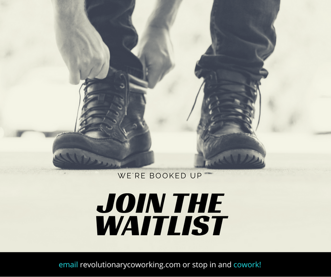 Join the Waitlist for Private Offices & Dedicated Desks