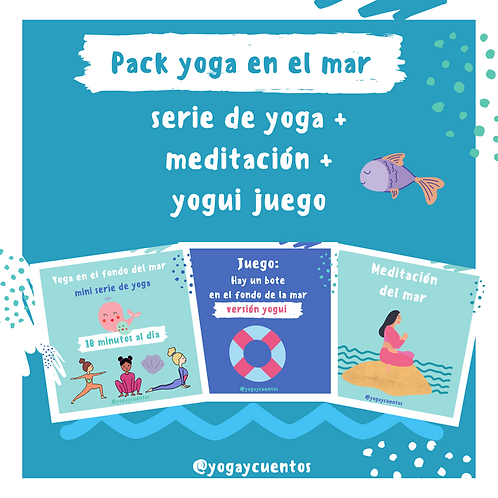 Pack: Yoga en el mar
