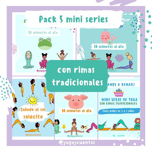 Pack Yoga y Rimas