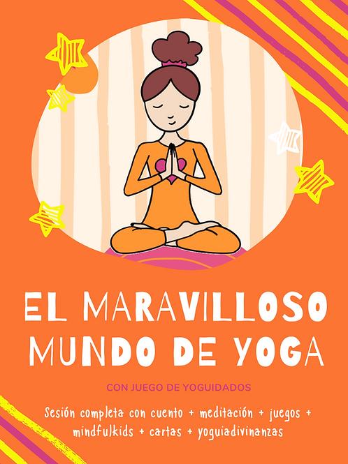 Pack: El maravilloso mundo de Yoga