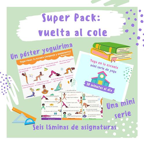 Super Pack: Vuelta al Cole.