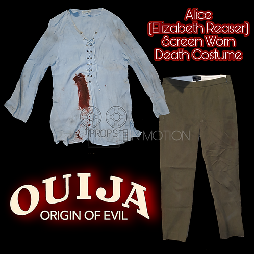 Ouija Origin Of Evil (2016) Alice (Elizabeth Reaser) Death Costume