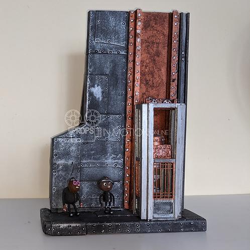 Strike (2018) Mine Elevator Display + Mungo + Ryan (S345)