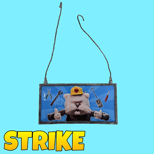 Strike (2018) Boss Construction Sign (S63)