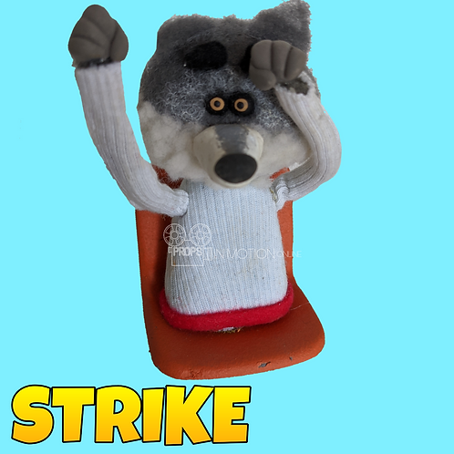 Strike (2018) Stadium Crowd Stop Motion Puppet with Seat (S24)