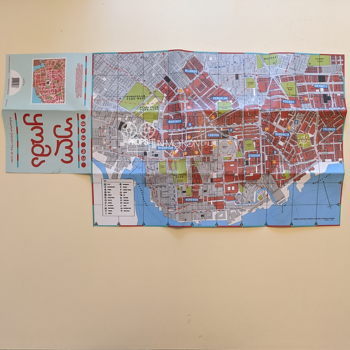 The City and the City (TV) (2018) Ul Qoma City Map (0514)