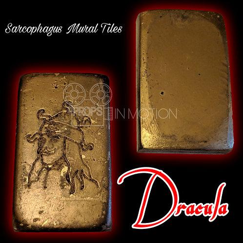 Vlad Tepes/Dracula (Jonathan Rhys Meyers) sarcophagus Gold/mural Tiles (0656)