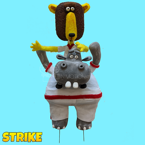 Strike (2018) Wildcup England Hippo with Player on back (S214)