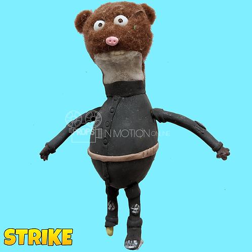 Strike (2018) Miner Stop Motion Puppet (S124)