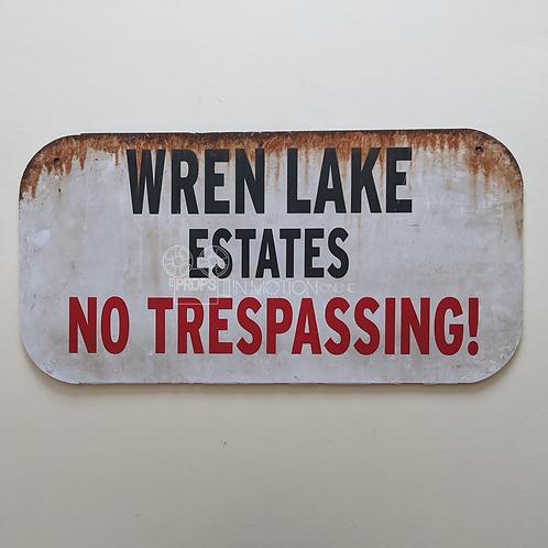 Scream The Series (TV) Wren Lakes Sign