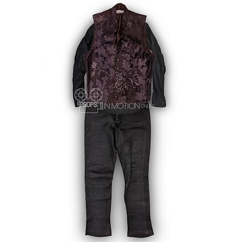 Ghost Rider (2007) Blackheart (Wes Bentley) Costume (0813)