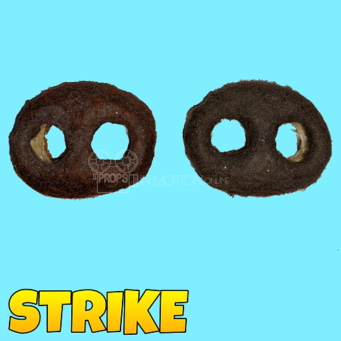Strike (2018) Prototype/Unfinished Mungo Heads (S62)