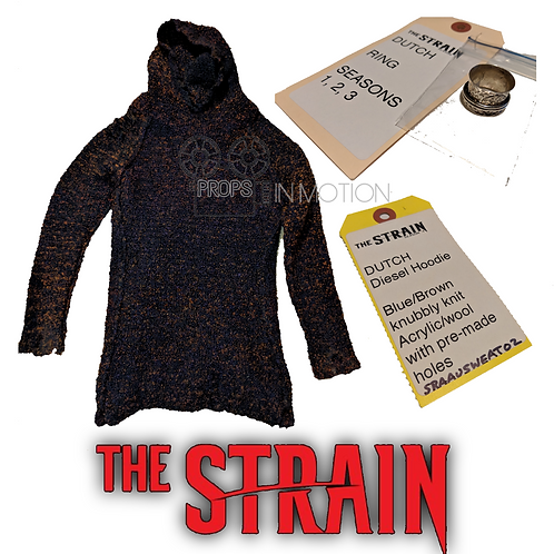 The Strain (2014-2017) Dutch (Ruta Gedmintas) Sweater and Ring (0539)