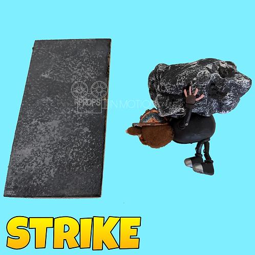 Strike (2018) Miner Stop Motion Puppet + Mine Floor Tile (S87)