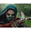 Thumbnail: Into the Badlands (TV) Iron Rabbit/Tilda Boomerang (Hard Rubber) (I43)