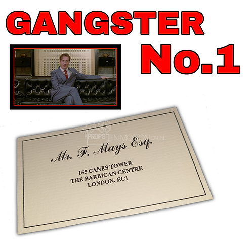 Gangster No.1 (2000) Freddie Mays (David Thewlis) Business Card (0682)