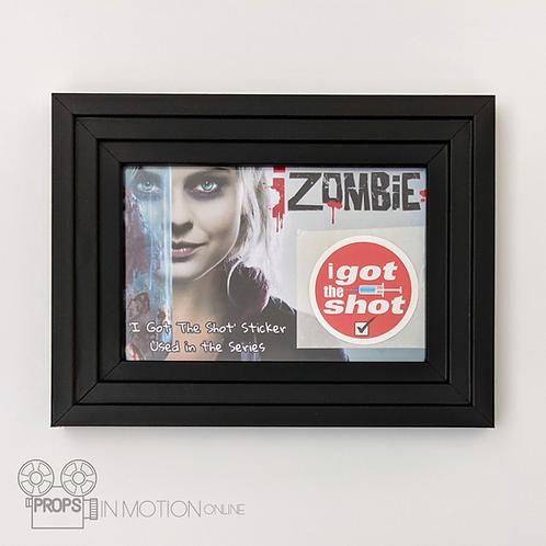 IZombie (TV) (2015-2019) 'I Got The Shot' Sticker Display (0885)