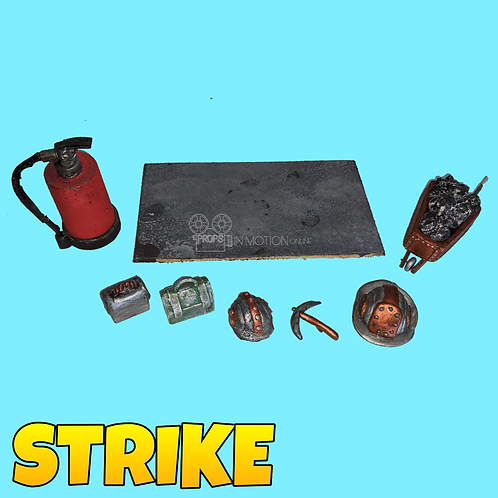 Strike (2018) Mine pieces (S315)