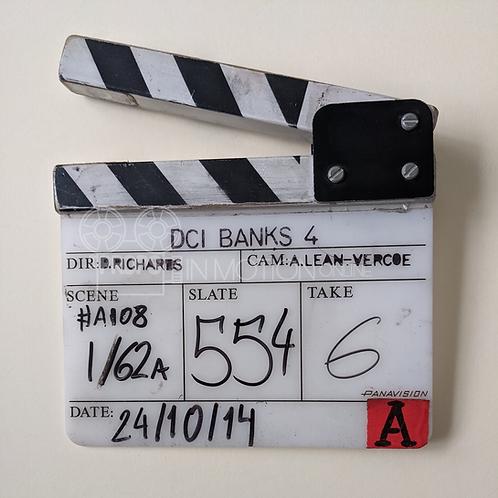 DCI Banks (TV) (2010-2016) Insert Clapperboard (0744)
