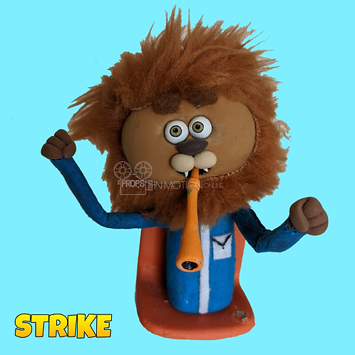 Strike (2018) Stadium Crowd Stop Motion Puppet with Seat (S15)