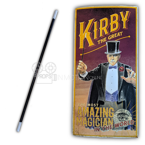 The Librarians (2014-18) The Amazing Mysterium (Sean Astin) Wand + Poster Board