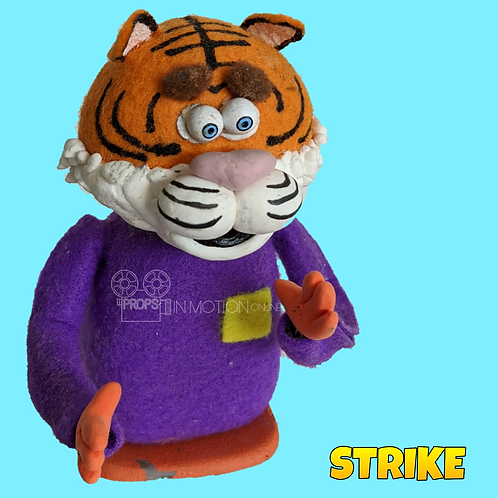 Strike (2018) Stadium Crowd Stop Motion Puppet with Seat (S35)