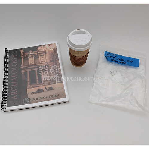 Life of the Party (2018) Jennifer (Debby Ryan) Archaeology Book + Cup (0887)