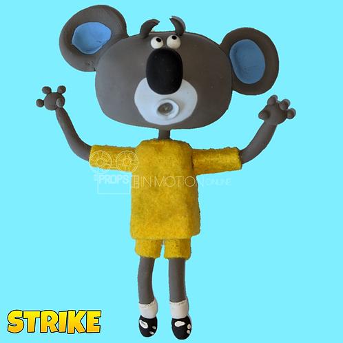 Strike (2018) Koala Stop Motion Puppet (S132)