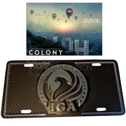 Colony (2016-2018) IGA License Plate