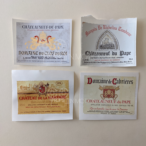 The Haunting of Bly Manor (2020) Production Made Bonfire Wine Label Set (BM16)