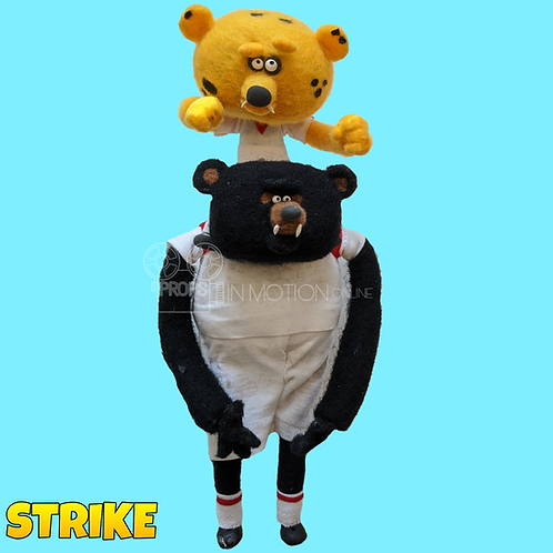 Strike (2018) Bear with player on Shoulders (S218)