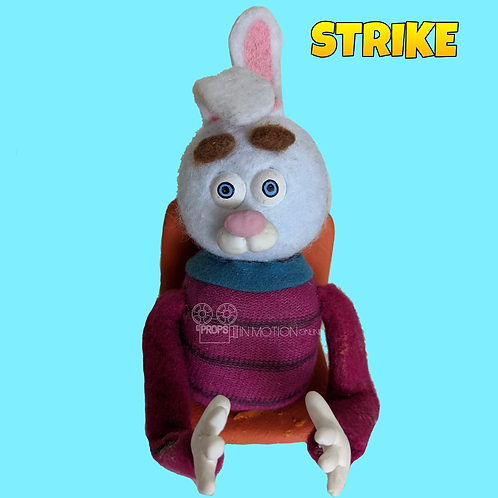 Strike (2018) Stadium Crowd Stop Motion Puppet with Seat (S13)