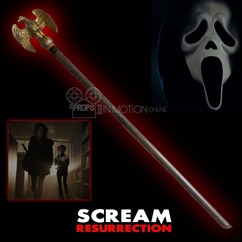 Scream The Series Season 3 (2019) Liv's (Jessica Sula) Bloody Eagle Flagpole