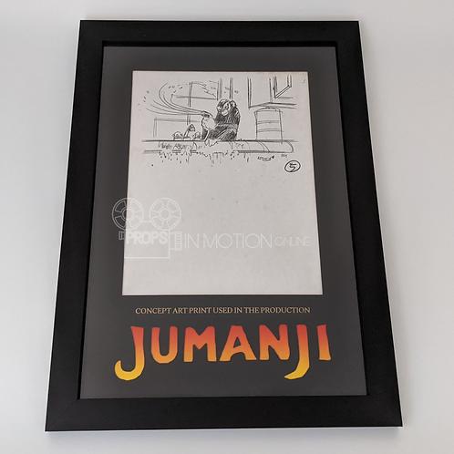 Jumanji (1995) Concept Art Department Print Display (0893)