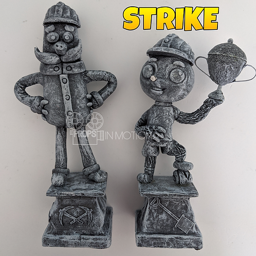 Strike (2018) Mungo + Garth Mine Statues (S320)