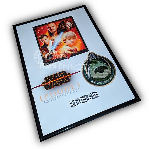 Star Wars Episode 1 The Phantom Menace ILM VFX Boss Nass Crew Patch