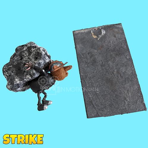 Strike (2018) Miner Stop Motion Puppet + Mine Floor Tile (S106)