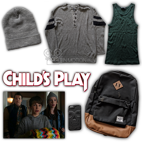 Childs Play (2019) Falyn (Beatrice Kitsos) Costume Pieces + Accessories