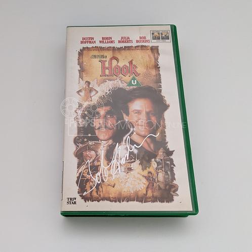 Hook (1991) VHS Signed by Bob Hoskins (0835)
