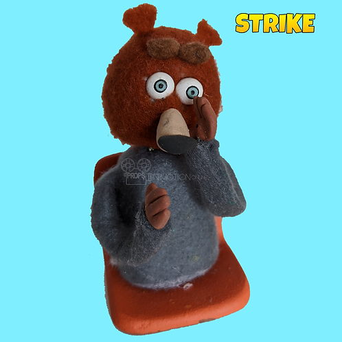 Strike (2018) Stadium Crowd Stop Motion Puppet with Seat (S26)
