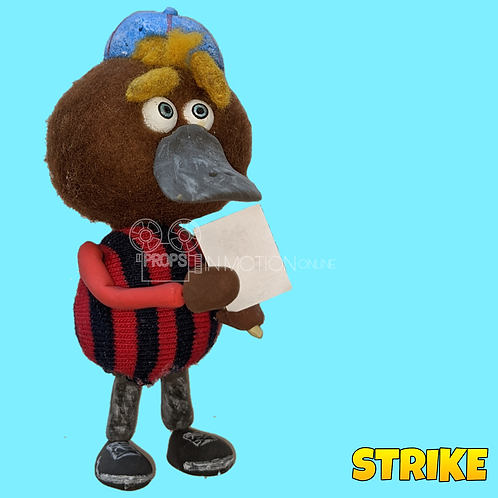 Strike (2018) Autograph Hunter Platypus Puppet (S133)