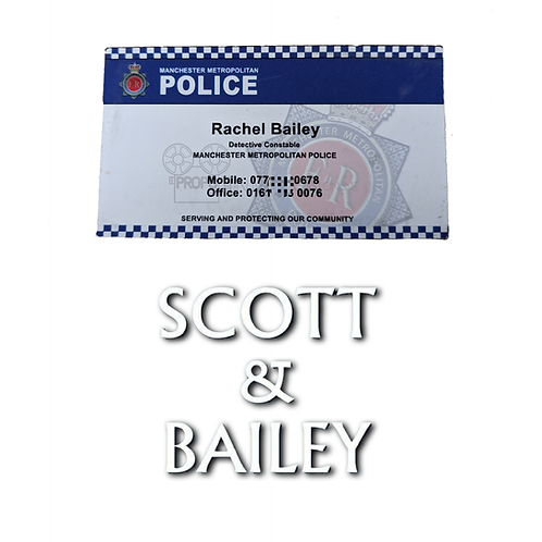 Scott and Bailey (TV) (2011-2016) Rachel Bailey (Suranne Jones) Business Card