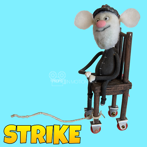 Strike (2018) Miners Procession Stop Motion Puppet (S64)