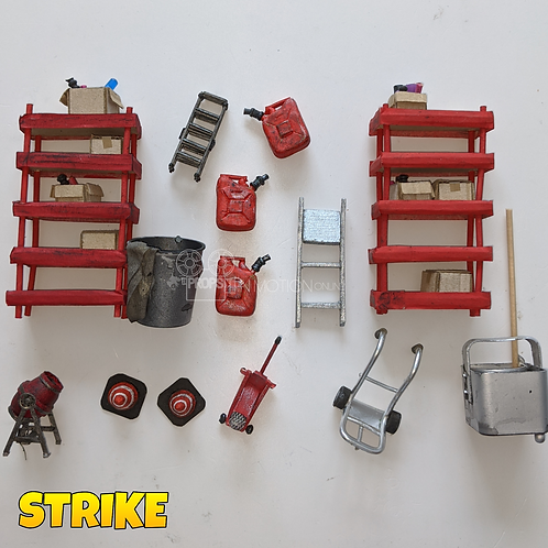 Strike (2018) Assortment of Pieces (S317)