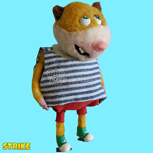 Strike (2018) Well-wisher Stop Motion Puppet (S157)
