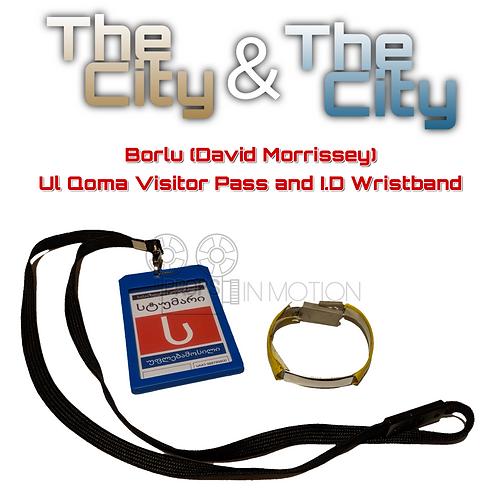 The City & The City (2018) Borlu (David Morrissey) Pass + I.D Wristband (0655)