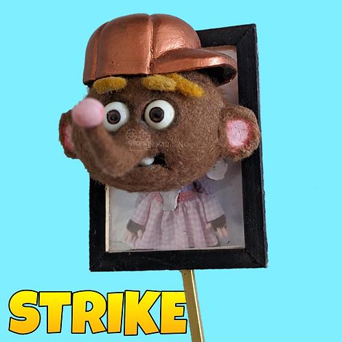 Strike (2018) Choir Rapper Stop Motion Head Rig + Picture (S81)